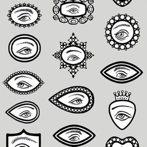 lover's eye - gray