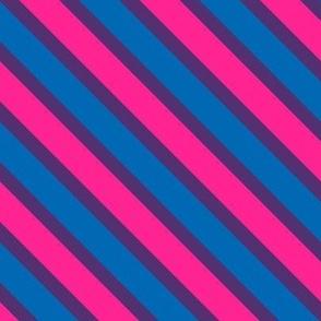 Bi Pride Stripes (diagonal)