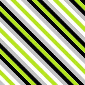Agender Pride Stripes (diagonal)