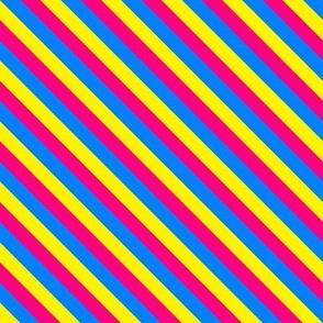 Pan Pride Stripes (Diagonal)