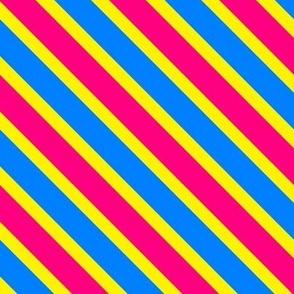 Pan Pride Stripe (uneven) (diagonal)