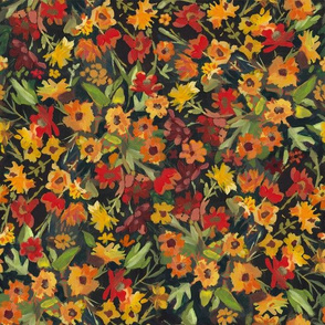 Colors of Fall Floral