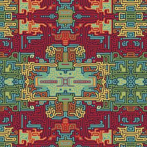 Turing Aztec Tile