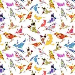 Block Print Birds (Small)