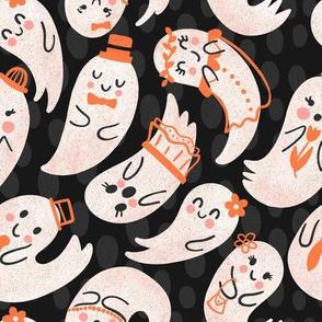 Cute Ghost Friends