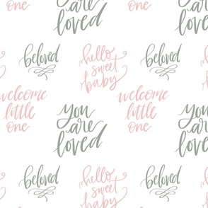lettered baby love