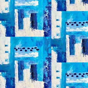 Vacation in Blue - a turquoise abstract
