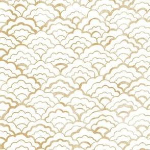 Scalloped - Golden
