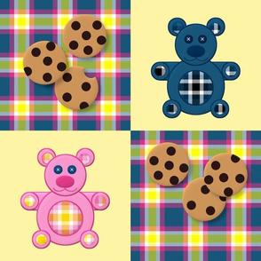 Teddy Bear Picnic by Shari Lynn's Stitches