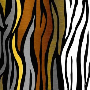 Artistic Hawaiian Zebra