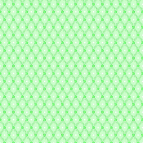 1830s Petite Mint Sprigs Dots