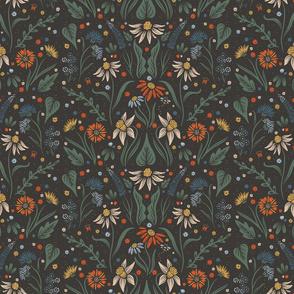 Lamb Illustration's Small Scale Dainty Wildflower Pattern