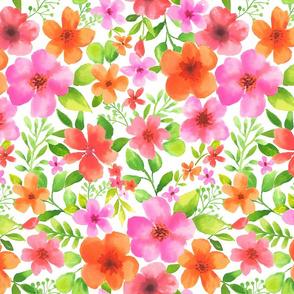 Watercolour flowers 84