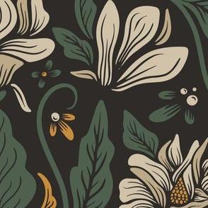 Lamb Illustration's Magnolia Botanical Pattern