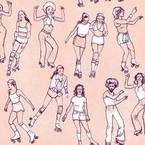 Roller Skate Pink