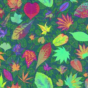 maximalist fall dark garden