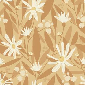 Golden Autumn Flowers : Light
