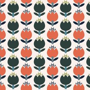 Tulips-Happy Orange