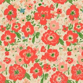 Vintage Holiday - floral medium