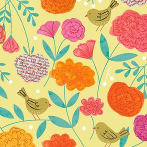 Cicero's Garden Birds, Books & Blooms
