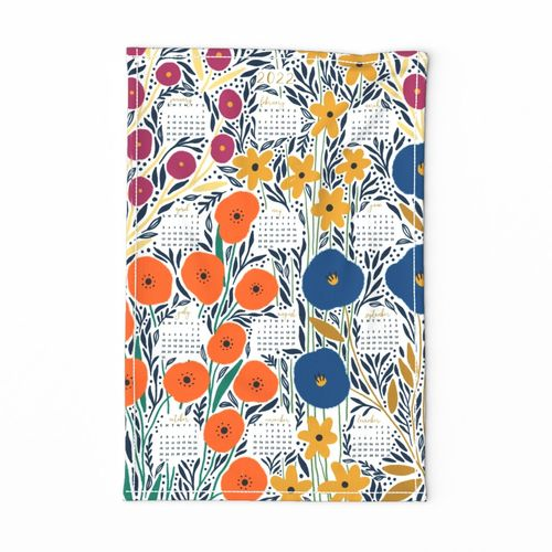 Clarissa Floral calendar 2021
