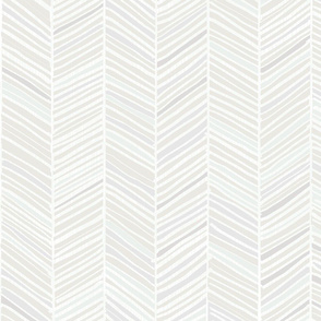 Medium Herringbone Hues of M+M Grays by Friztin