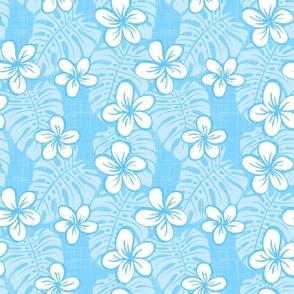 Pale Blue Garden