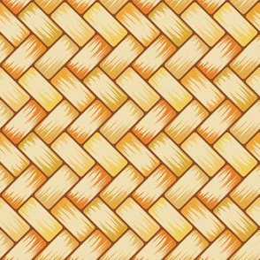 Dried Palm Weave 8in
