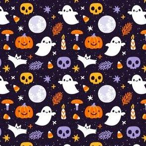 Spooky night. Small scale