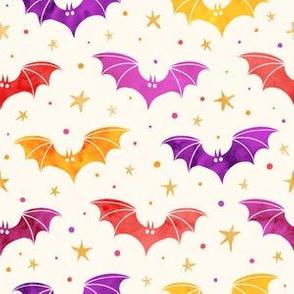 Watercolor Bats Confetti