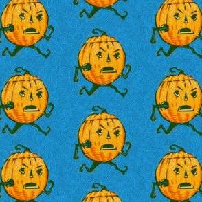Running Pumpkin Man