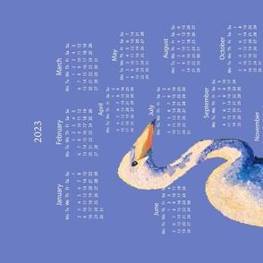 Egrets in the Marsh Calendar