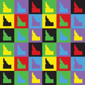 Idaho Pop Art Pattern