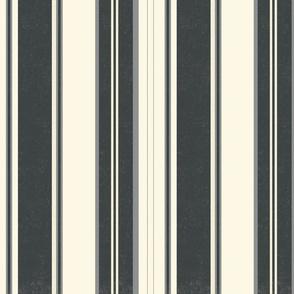 classic black and ivory stripe terriconraddesigns