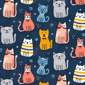 Cute cat club