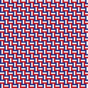 Hidden flag of france - tiny scale