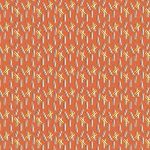 Grasses orange