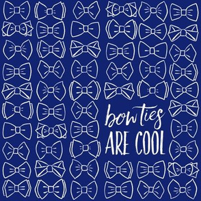 Bow Ties Are Cool - Navy LG