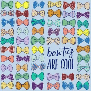 Bow Ties Are Cool - Blue LG