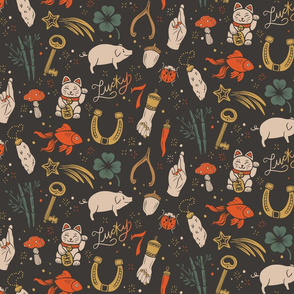 Lamb Illustration's Lucky Charms Pattern