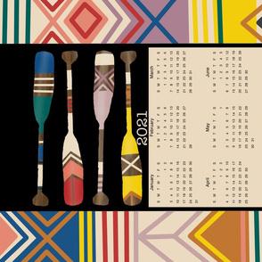 2021 Painted Oar Calendar
