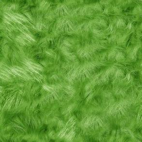 Green Faux Fur 8x8