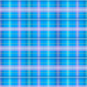 Margarita Plaid Blue