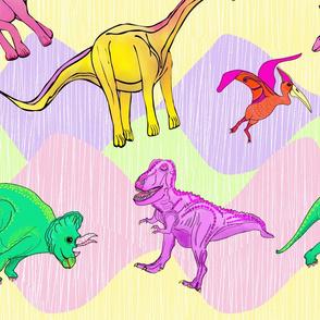 Wondering Dinosaurs