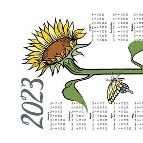 sunny - 2021 sunflower calendar