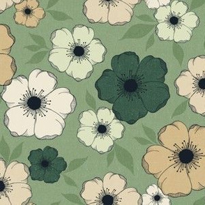 Anemone Floral - earthy
