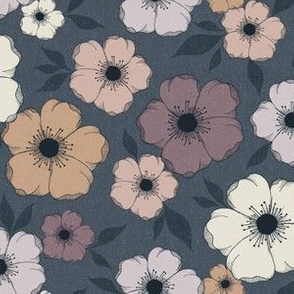 Anemone Floral - moody