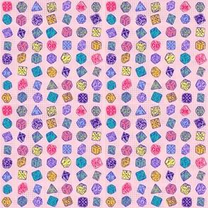Dice Roll - Pink SM
