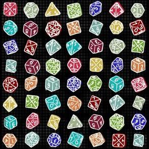 Dice Roll - Black Multicolor LG