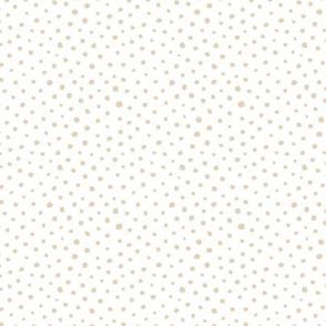 Tiny speckles and animals spots cheeta spot animal print boho neutral nursery soft ginger beige white